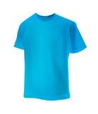 Maglietta blu Fotografia Stock
