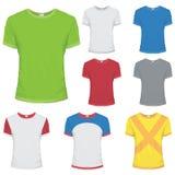 Maglietta colorata Immagine Stock Libera da Diritti