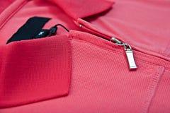 Maglietta del collare Immagini Stock