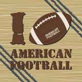 Maglietta di football americano Fotografia Stock Libera da Diritti