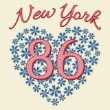 Maglietta di New York Immagini Stock Libere da Diritti
