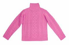 Maglietta felpata rosa Fotografie Stock