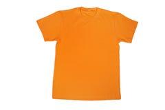 Maglietta gialla i Fotografie Stock
