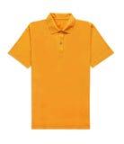 Maglietta gialla isolata Immagine Stock Libera da Diritti