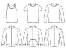 Maglietta giro collo, maglietta, maglietta a maniche lunghe, maglietta felpata royalty illustrazione gratis
