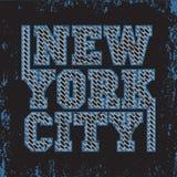 Maglietta New York, sport della maglietta, progettazione di sport, modo di New York illustrazione vettoriale