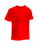 Maglietta rossa Immagine Stock Libera da Diritti