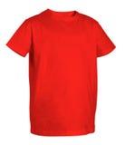 Maglietta rossa Immagini Stock Libere da Diritti