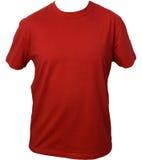 Maglietta rossa Fotografie Stock