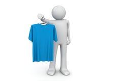 Maglietta - stile di vita Immagini Stock Libere da Diritti