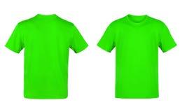 Maglietta verde Fotografie Stock Libere da Diritti