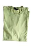 Maglietta verde chiaro Immagine Stock
