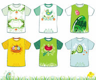 Magliette di Pasqua Fotografia Stock