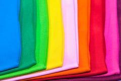 magliette fatte da cotone e da fibra Fotografia Stock Libera da Diritti