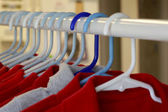 Magliette rosse Immagine Stock Libera da Diritti