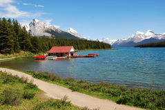 Magline lake Royalty Free Stock Photo