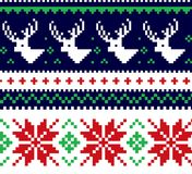 Maglione di Natale Fotografie Stock Libere da Diritti