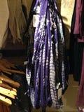 Maglione di Teal, appendente al minuto, sguardo di boho Immagine Stock Libera da Diritti
