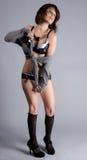 Maglione e biancheria sexy Fotografie Stock Libere da Diritti