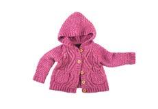 Maglione rosa fotografie stock