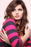 Maglione rosso. Fotografia Stock Libera da Diritti