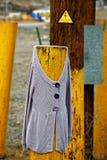 Maglione su un palo Immagine Stock