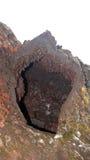 Magma chamber in Leirhnjúkur Lava Fields in Krafla area Royalty Free Stock Image