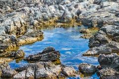 Magma de mer Photo stock