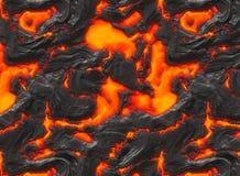 Magma ou lava derretida Fotografia de Stock Royalty Free