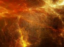 Magma vulcanico Fotografie Stock