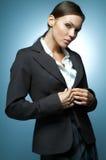 Magnésium sexy de femme d'affaires. Image libre de droits