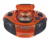 Magnétophone à cassettes par radio photographie stock