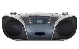Magnétophone à cassettes par radio Photographie stock libre de droits