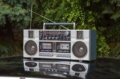 Magnétophone à cassettes par radio 2 Image stock
