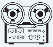 Magnétophone de bobine Image stock