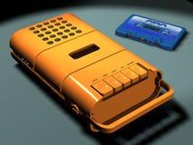 Magnétophone de cru Images libres de droits