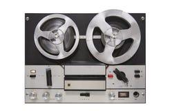 Magnétophone de vintage Photos libres de droits