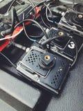 Magnétophone sans fil portatif Photographie stock