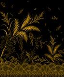 Magnólia Campbellii da magnólia de Campbell, planta de florescência das ilustrações de plantas Himalaias ilustração royalty free