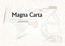 Magna Carta Arkivbilder