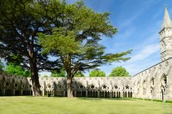 Magna Carta Chapter House, na estação de mola, Salisbúria, Inglaterra fotos de stock royalty free