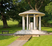 Magna Carta Memorial Runnymede. The Magna Carta Memorial Runnymede near Egham Surry Eglnad. It was at Runnymede that King John signed Magna Carta stock photo