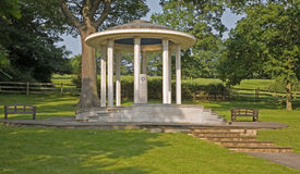 Magna Carta Memorial Runnymede. The Magna Carta Memorial Runnymede near Egham Surry Eglnad. It was at Runnymede that King John signed Magna Carta royalty free stock photos