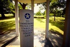 Magna Carta Memorial Stock Photos