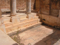 Magna Leptis Royalty-vrije Stock Afbeeldingen