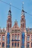 Magna Plaza a Amsterdam, Paesi Bassi fotografia stock