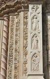 Magnanimity and Pride from Palazzo dei Priori in Perugia, Italy Stock Image