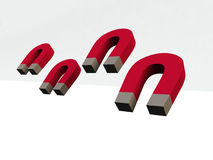 Magneet stock illustratie