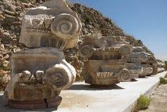 Magnesiaannons Maeandrum, Turkiet för forntida stad Arkivbilder