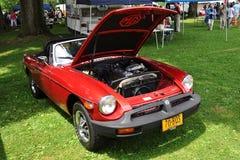 Magnesio B en Car Show antiguo Foto de archivo